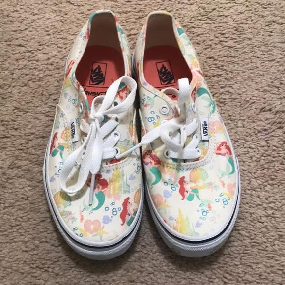 dc74d4be77472a Vans Little Mermaid Sneakers. M 5c323446194dad30a85b0fdf
